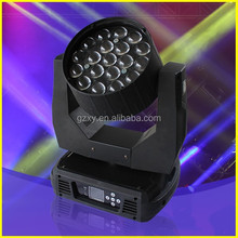 19pcs 12w zoom led mac aura moving head light for party