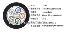 hotsale wd factory outdoor fiber optic cable GYTA
