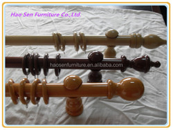 New Design Wooden Curtain Pole