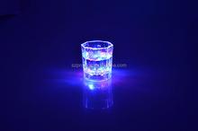 Custom popular bar plastic flashing light Led cup/glass