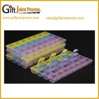Wholesale 28 days Portable Plastic Pill Box, Weekly Pill Box