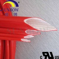 4.0KV Glassfiber Sleeving Cover Silicone Resin UL Certification