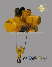 pequeño motor poleas cd1 tipo eléctrico alzamiento de cuerda de alambre alzamiento eléctrico
