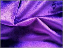 Shiny knitting velvet fabric for upholstery