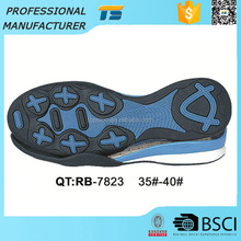 China Female Non Slip Rubber Go Walk Casual Wear Resistant Sole