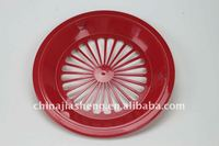 colorful plastic paper plate holder