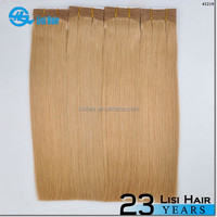New Beauty Golden Supplier Top Quality No Shedding No Tangle Thick Ends 100% Remy Human Hiar double drawn human hair ponytail