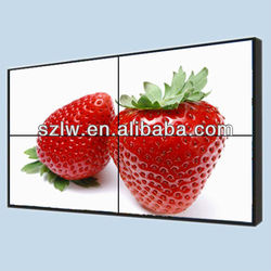 Ultra narrow bezel 5.5mm 55 inch 2x3 lcd video wall 4K display supported