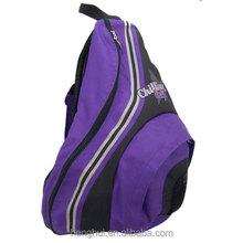 Everest Shoulder Sling Backpack Messenger Bag Purple & Black