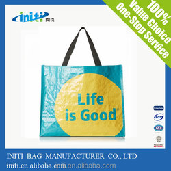 Nonwoven fabric to make shopping bag