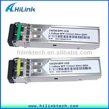 80KM 1.25G 1530nm 1550nm CWDM Equipment Optics Fiber