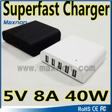 Best Quality Home Using Or Travalling Usb Smart Charger 5v Power 5 port smart usb charger For Usb Charger Desktop