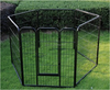 square tube pet fence dog fence
