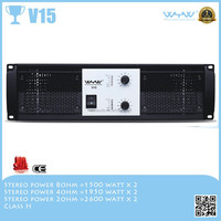1500W Professional Class H Stereo circuit Power Amplifier