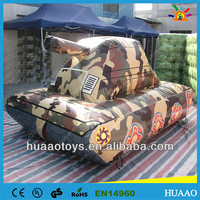 Digital printed co2 air paintball inflatable tank