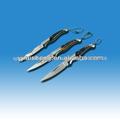 440 hoja de acero inoxidable de fibra de carbono cuchillos