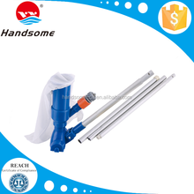Economy jet heavy duty vacuum with brush for small above ground pool