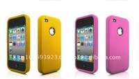 fashion New Silicone cellphone case for iphone 4