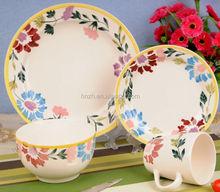 hp flower ceramic easter dinnerware set
