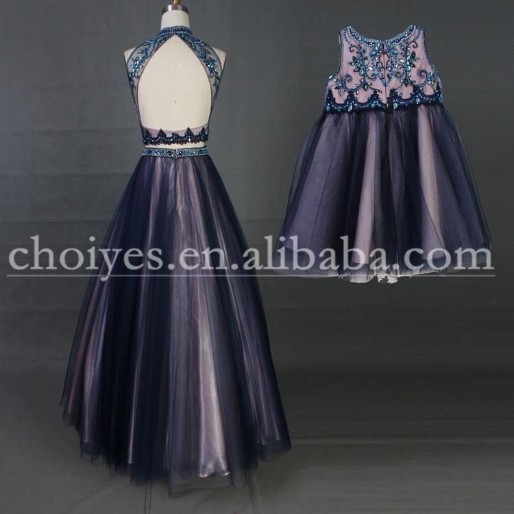 LB5258 madre e hija vestido de diseño más reciente evening dresses 2015