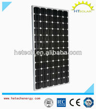 Aluminum-alloy Frame Mono 180w solar photovoltaic with high quality