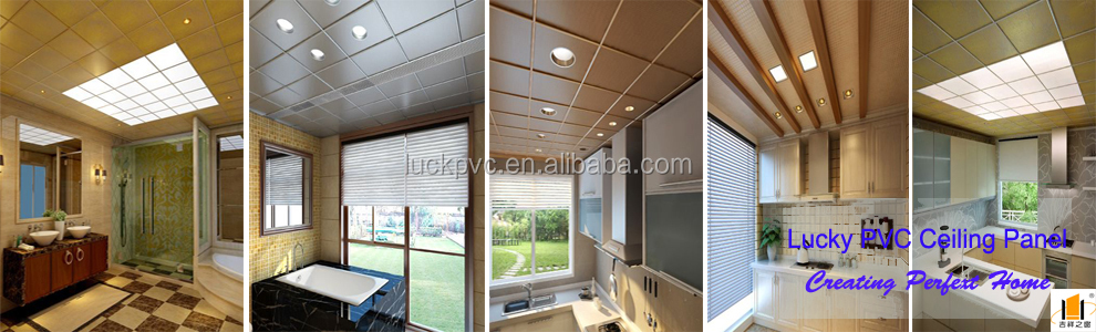 Interior PVC Ceiling Design Wooden Design
