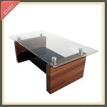 Mesa de café ajustable mucho brillo fotos de muebles de madera