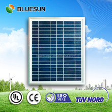 Bluesun solar bag use polycrystalline 12v 25w solar panel