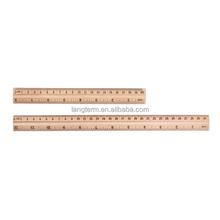 30cm wooden straight ruler