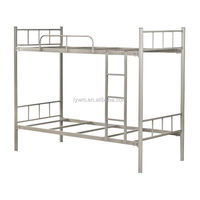 The most competitive price metal bunk beds for school dorm