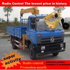 Dongfeng médio porte 4 x 2 guindaste do caminhão grua chassi de caminhão EQ5160 para venda