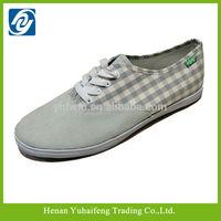 New design lace-up canvas shoes