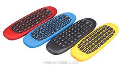 mini wireless keyboard with remote control