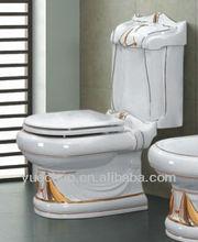 decoration washdown two piece toilet ceramic sanitaryware