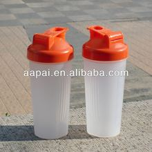 2014 new style BPA free shake bottle whey protein shaker bottle