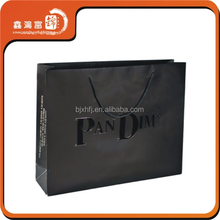 Retail custom logo printed luxury shopping bag with best price
