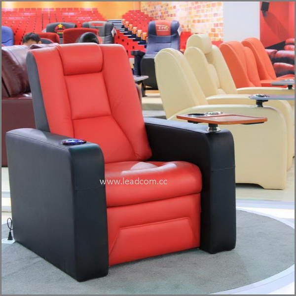 Leadcom Leather Reclining Vip Movie Theater Sofa Chair Ls