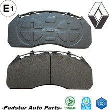 truck spare parts 29174 heavy truck brake pad for mercedes atego 1823