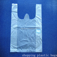 Factory wholesale prices custom shopping plastic bags