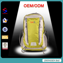 New mountain nylon hiking backpack bag large capacity hiking backpack bag with rain cover