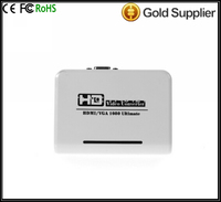 8 HD to VGA Converter Input 480P 720P 1080P Audio & Video Cables