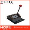 HOPU automatic business card die cutter paper card cutter