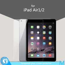 Clear Front Tempered Glass Screen Cover for iPad Air