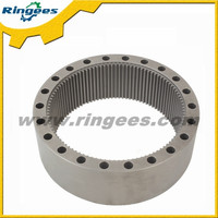 Top quality excavator parts swing gear ring / Swing reducer ring gear used for Komatsu pc200-1