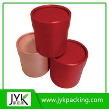 Custom logo printed round packaging boxes