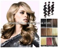 ali queen hair bobbi blonde100% mongolian hair hair