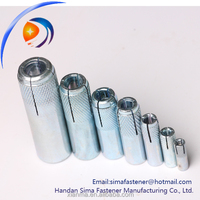 Carbon steel concrete bolts fixing anchor