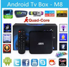 hot product Android 4k Tv Box allwinner a31 quad core android tv box M8N
