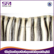 Cheap New Design Double Sided Tape Synthetic Hair Extension wholesale