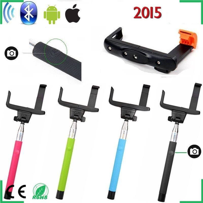 extendable handheld audio cable control selfie stick buy extendable control monopod wired. Black Bedroom Furniture Sets. Home Design Ideas